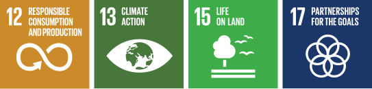 Contributions to the SDGs in environmental sustainability