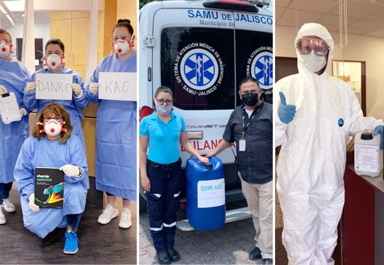 Extraordinary donations from the pandemic situation