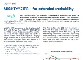 Mighty 21 PR - for extended workability