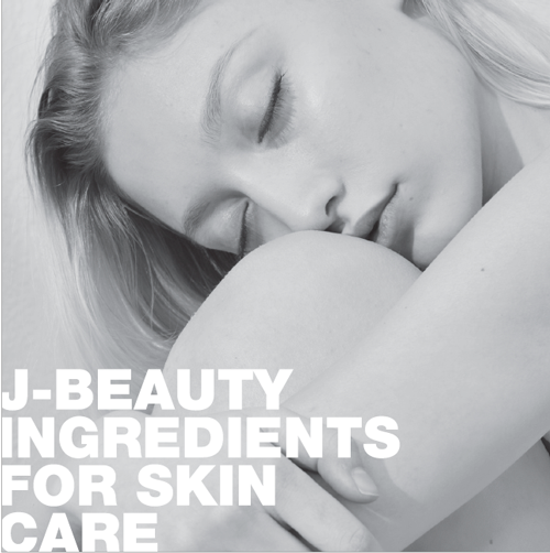 Exclusive J-Beauty ingredients for the European skincare market
