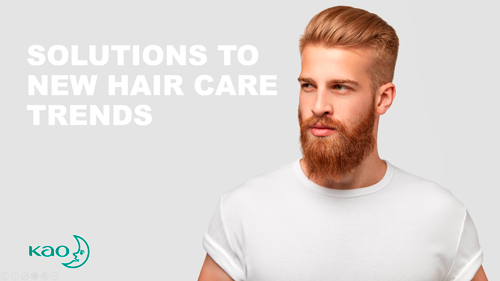 Kao Chemicals Europe develops solutions for on-trend hair care products